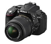 Фотоапарат Nikon D5300 kit (18-55mm VR) Black Офіційна гарантія (VBA370K007)