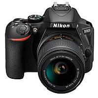Фотоапарат Nikon D5600 kit (18-55mm VR) Black Офіційна гарантія (VBA500K001)