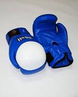 Перчатки боксерские ТМ Wolf (кожа; 8,10,12 oz; черный,красный,синий)