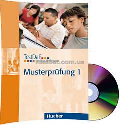 Немецкий язык / Подготовка к экзамену: TestDaF Musterprüfung 1+CD / Hueber