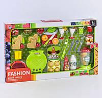 Игровой набор продуктов с блендером и вафельницей, световые и звуковые эффекты, в коробке