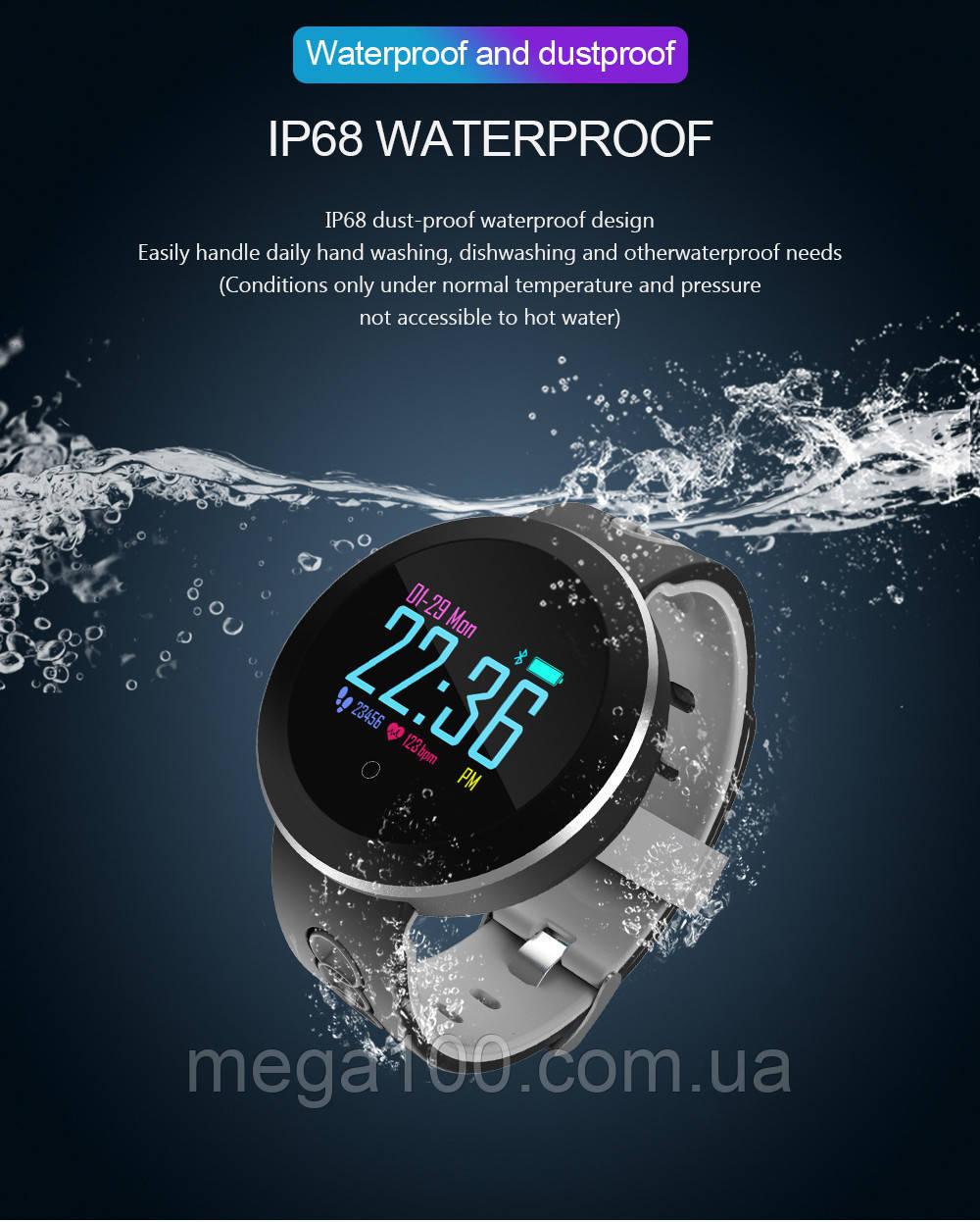 Смарт браслет, фитнес браслет, часы с тонометром, умные часы, часы с шагомером Q8 pro, фитнес трекер