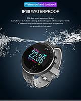Смарт браслет, фитнес браслет, часы с тонометром, умные часы, часы с шагомером Q8 pro, фитнес трекер, фото 1