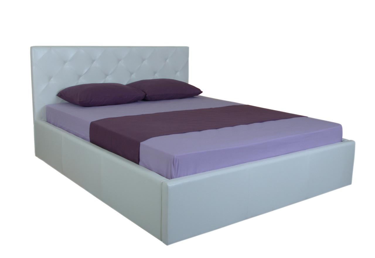 Ліжко ортопедичне з нішею для білизни