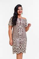 """Платье больших размеров """" Кружево """" Dress Code, фото 1"""