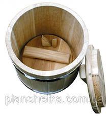 Дубова діжка для солінь дубова на 20 літрів, фото 2
