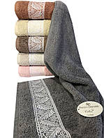 Хлопковые полотенца Sweet Dreams 50x90 (6-шт) № Cinar