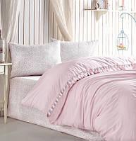 Комплект постельного белья 200х220 Cotton box Ранфорс Candy RITA PUDRA