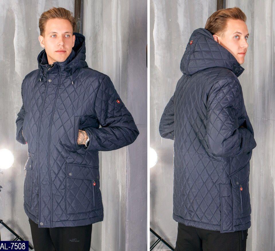 Мужская зимняя куртка Зима Турция холлофайбер L, M, XXXL