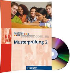 Немецкий язык / Подготовка к экзамену: TestDaF Musterprüfung 2+CD / Hueber