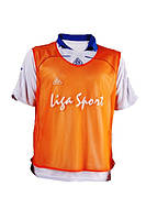 Манишки для тренировок  Liga Sport (оранжевый)
