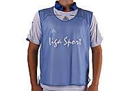 Манишки для тренировок  Liga Sport (синий)