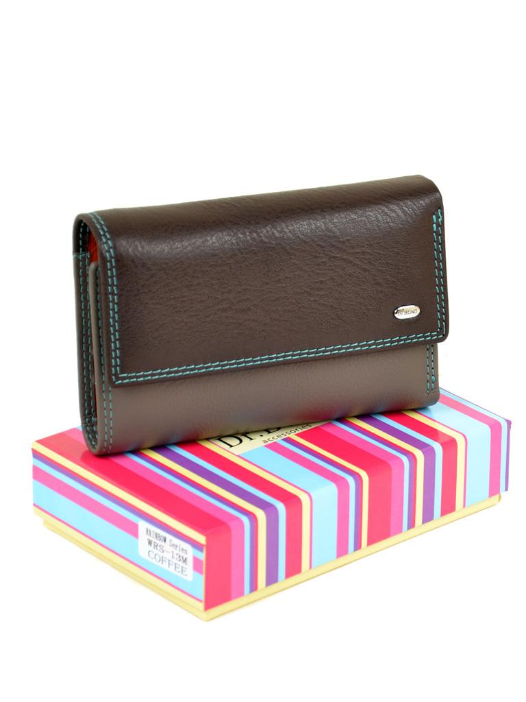 e4032ce3fd52 Стильный складной кожаный женский кошелек DR. BOND - «Стиль-мода» - райский