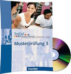 Немецкий язык / Подготовка к экзамену: TestDaF Musterprüfung 3+CD / Hueber