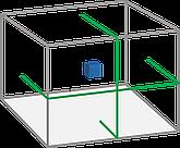 Уровень лазерный X-Mark 2B-50, зеленый, 2 полосы, фото 2