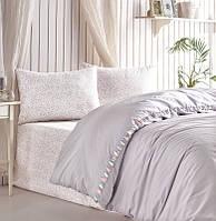 Комплект постельного белья 200х220 Cotton box Ранфорс Candy RITA GRI