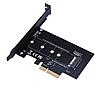 Переходник pci x4 -M2 NGFF NVME SSD #100402