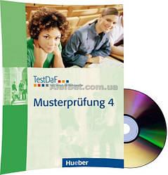 Немецкий язык / Подготовка к экзамену: TestDaF Musterprüfung 4+CD / Hueber