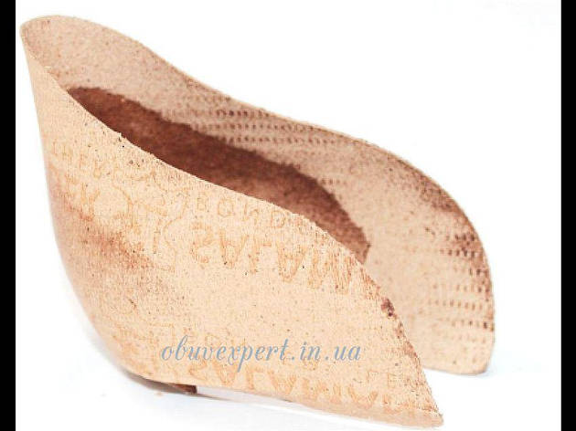 Задник обувной кожкартонный с выступом ф. 94-2 (р. 42-43/280-290), фото 2