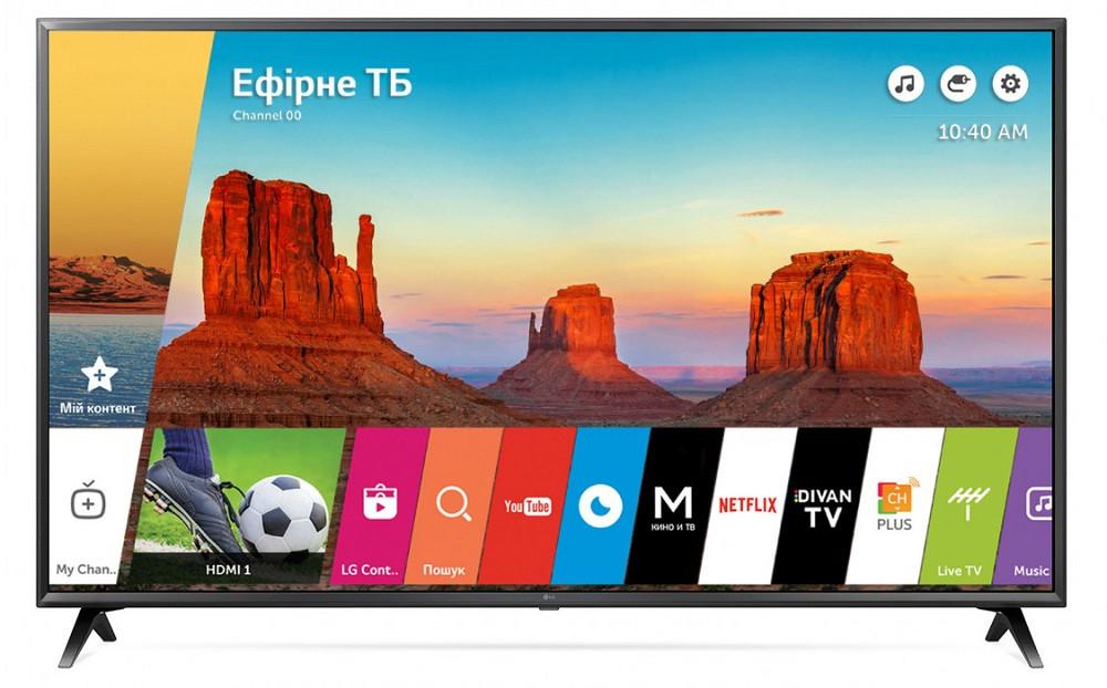 Телевизор LG Smart Tv Wi-Fi 40UK6300UA ( плазменный телевизор )