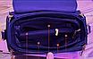 Сумка женская с ручкой классическая саквояж Sabina Синий, фото 4