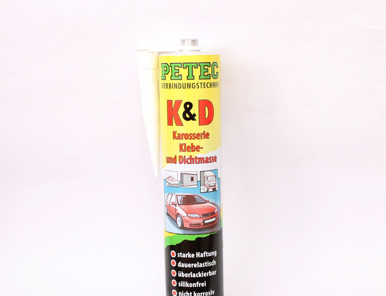 Герметик PETEC полиуретановый черный 310мл