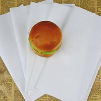 Жиро- и влагостойкая бумага для упаковки продуктов (фаст-фуд) 420х420 мм (500 листов)