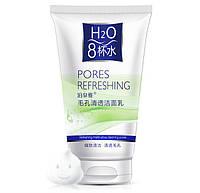 Очищающая пенка для умывания BioAqua H2O Pores Refreshing