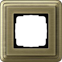 Устан рамка 1 мест ClassiX бронза