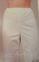 Медицинские брюки 3601 (коттон) белые