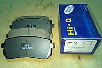 Колодки тормозные задние Hyundai Veracruz, H-1, ix55, Starex SP1192