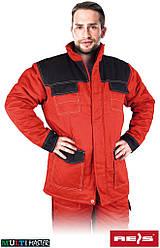 Куртка утепленная рабочая красная REIS Польша (рабочая зимняя одежда) MMWJL CB