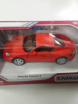 Машинка Kinsmart Porshe Cayman s