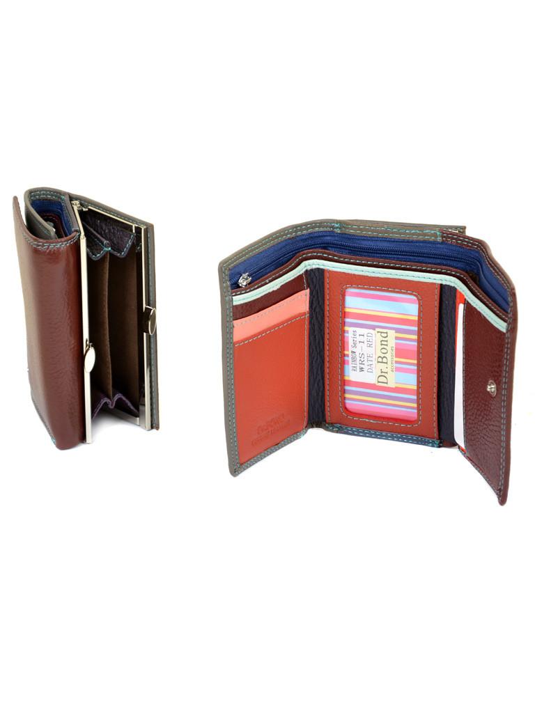 071cd389ab8d Компактный складной кожаный женский кошелек DR. BOND: продажа, цена ...