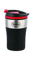Термокружка Con Brio CB-360 - Черная, на 280мл, нержавейка, фото 1