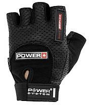 Перчатки для фитнеса и тяжелой атлетики Power System Power Plus PS-2500 Black, фото 3