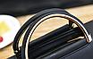 Сумка женская через плечо с ручками в стиле Whorseо Серый, фото 6