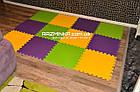 Напольный коврик-пазл для детей 48х48х1см (х10шт) , фото 2