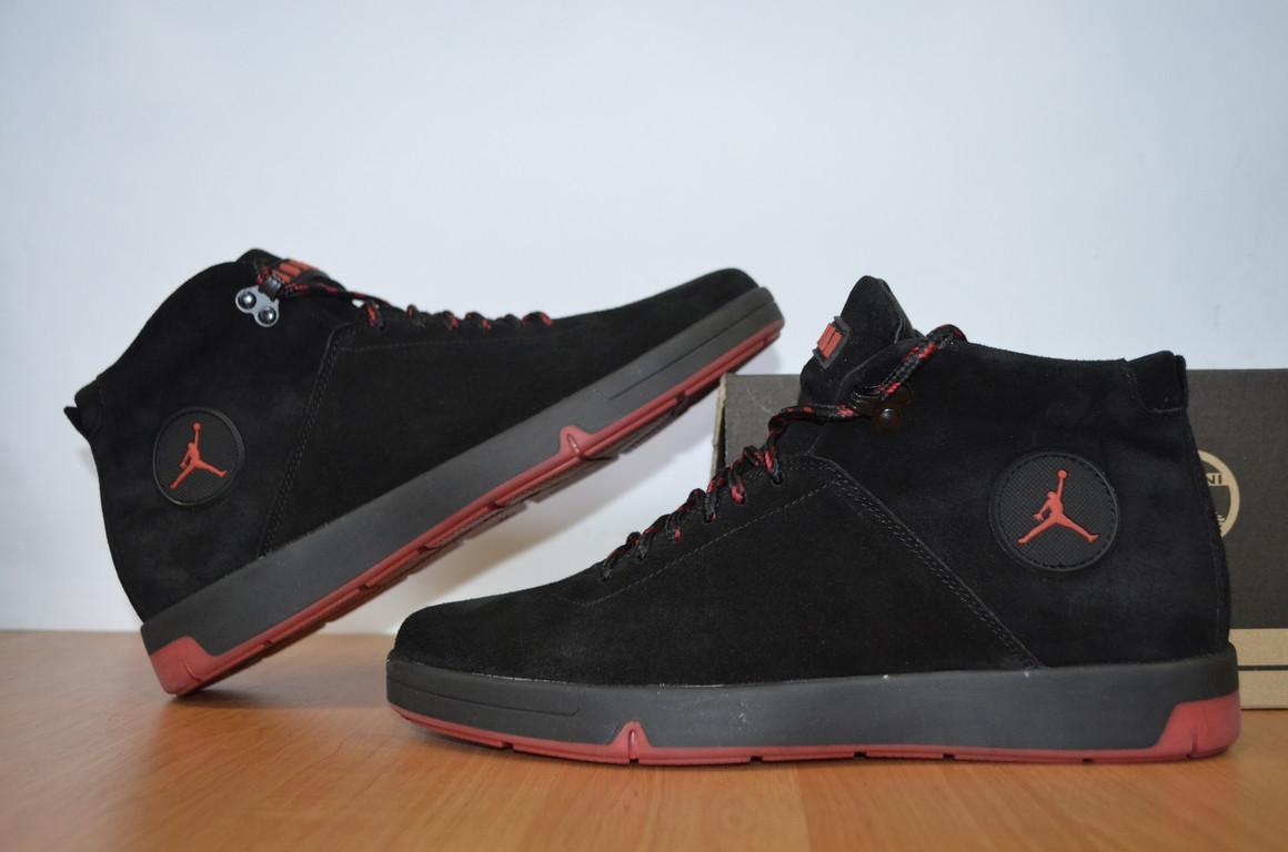 1c60e6976587 Зимние мужские кроссовки Jordan высокого качества.Копия.Зимние ботинки.