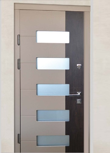 Широкие двери входные Люкс_2053