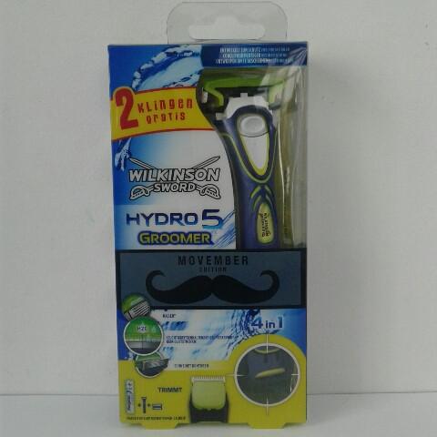 Набор для бритья мужской Wilkinson Sсhick Hydro 5 Groomer ( Грумер тример ручка + 3 катриджей) Германия