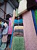 Плед-травка бамбуковый двусторонний. Персиковый 220х240см - Фото