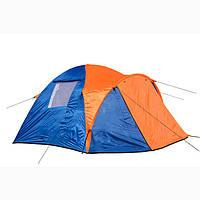 Палатка с тамбуром трехместная двухслойная Coleman 1011