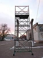 """Вышка-тура (2х1,2м) """"Вектор-Облегченный вариант"""" - 6,2 м (4+1) Базовый блок, Украина, фото 2"""
