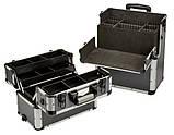 Алюминиевый  косметический чемодан 3в1, фото 7