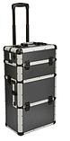 Алюминиевый  косметический чемодан 3в1, фото 2