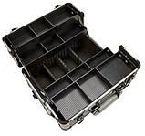 Алюминиевый  косметический чемодан 3в1, фото 8