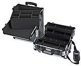 Алюминиевый  косметический чемодан 3в1, фото 6