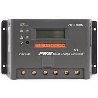 Контроллер, ШИМ 45А 12/24/36/48В  с дисплеем, (VS4548BN) EPSolar