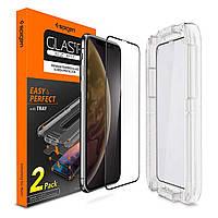 Защитное стекло Spigen для iPhone XR EZ FIT, 2шт. (064GL25168), фото 1
